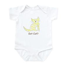 Got cat? Infant Bodysuit