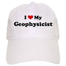 I Love Geophysicist Baseball Cap