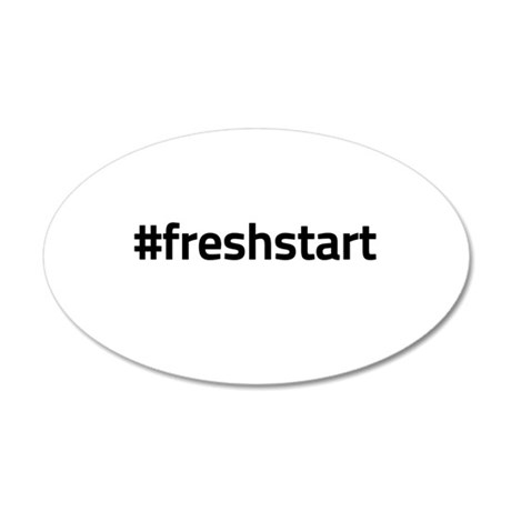 #freshstart Wall Decal