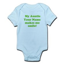 My Auntie Makes Me Smile (Custom) Body Suit