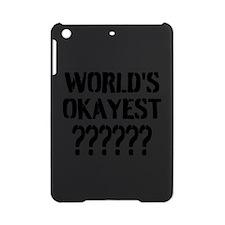 Worlds Okayest | Personalized iPad Mini Case