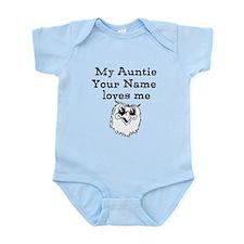 My Auntie Loves Me Owl (Custom) Body Suit
