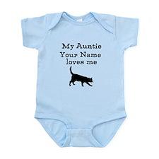 My Auntie Loves Me Cat (Custom) Body Suit