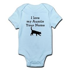 I Love My Auntie Cat (Custom) Body Suit