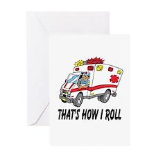 Ambulance driver Greeting Cards