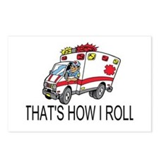 Ambulance driver Postcards (Package of 8)