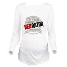Redgator Washout Long Sleeve Maternity T-Shirt