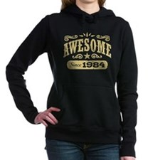 Awesome Since 1984 Women's Hooded Sweatshirt