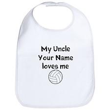 My Uncle Loves Me Volleyball (Custom) Bib