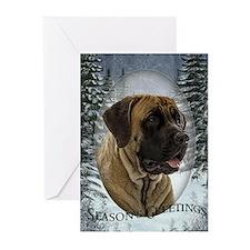 English Mastiff Greeting Cards