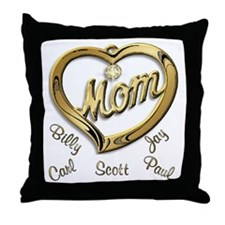 Donna Snyder Throw Pillow