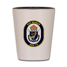 DDG-72 USS Mahan Shot Glass