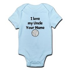 I Love My Uncle Volleyball (Custom) Body Suit