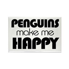 Unique Penguin cartoon Rectangle Magnet (100 pack)