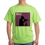 iBird (purple) Green T-Shirt