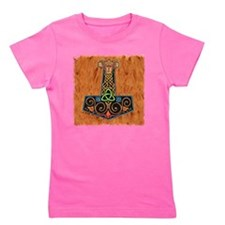 Thors Hammer in color Girl's Tee