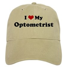 I Love Optometrist Baseball Cap