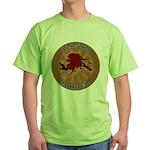 Alaska Birder Green T-Shirt