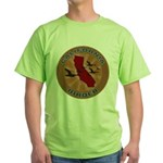 California Birder Green T-Shirt