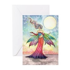 Star Gatherer Fairy Fantasy Art Greeting Cards