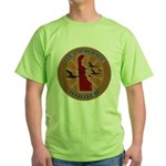 Delaware Birder Green T-Shirt