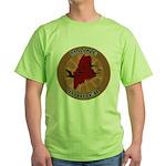 Maine Birder Green T-Shirt