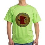 Minnesota Birder Green T-Shirt
