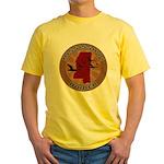 Mississippi Birder Yellow T-Shirt