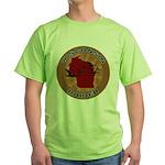 Wisconsin Birder Green T-Shirt