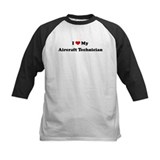 I Love Aircraft Technician Tee