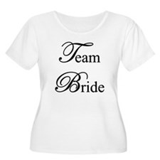 Team Bride Plus Size T-Shirt