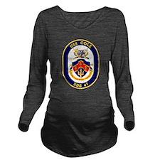 DDG 67 USS Cole Long Sleeve Maternity T-Shirt
