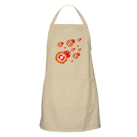 Flaming BBQ Apron