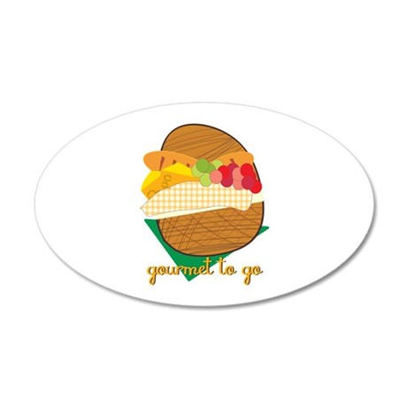 Gourmet To Go Wall Decal