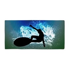 Blue Green Foam SurfingTOWEL Beach Towel