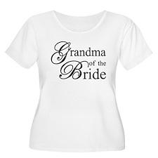 Grandma of the Bride Plus Size T-Shirt