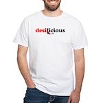 Desilicious White T-Shirt