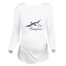 The Hamptons Long Sleeve Maternity T-Shirt