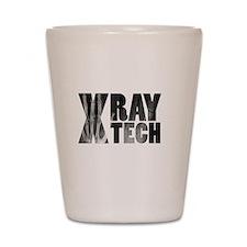 xray tech Shot Glass