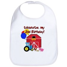 Farm 2nd Birthday Bib
