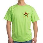 The Mason's Star Green T-Shirt