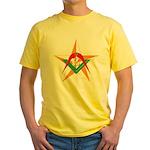 The Mason's Star Yellow T-Shirt