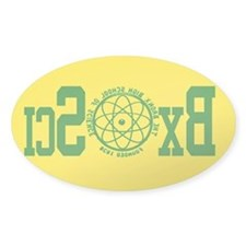 Bronx Science reversed gold Decal