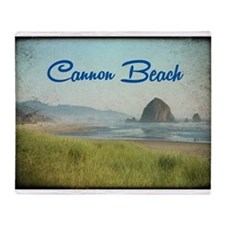 Cannon Beach Throw Blanket