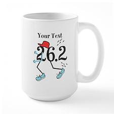 Personalized Runner 26.2 Mug