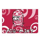 "Coveman ""Pig-mint"" Postcards (Package of"