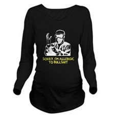 Allergic Bullshit Long Sleeve Maternity T-Shirt