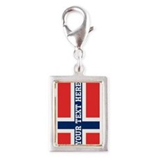 Personalize Flag of Norway Charms