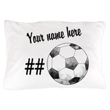 Soccer Art Pillow Case