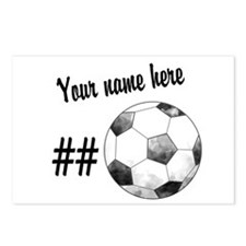 Soccer Art Postcards (Package of 8)